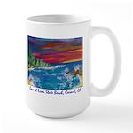 Carmel State Beach, Carmel CA 700.jpg Large Mug
