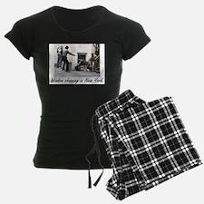 Window Shopping in New York Pajamas