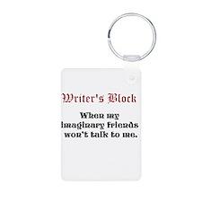 Writers Block Keychains