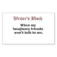 Writers Block Decal