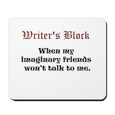 Writers Block Mousepad