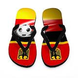 Personalized soccer flip flops Flip Flops