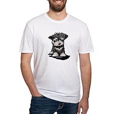 KiniArt Schnauzer Pup Shirt
