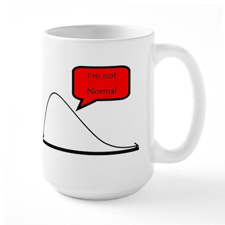 I'm not normal! Large Mug