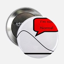 """I'm not normal! 2.25"""" Button"""