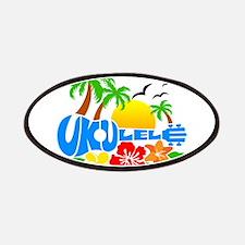 Ukulele Island Logo Patches
