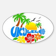 Ukulele Island Logo Decal