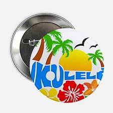 """Ukulele Island Logo 2.25"""" Button"""