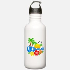 Ukulele Island Logo Water Bottle