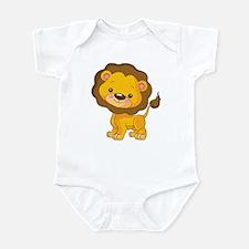 Cute Baby Lion Infant Bodysuit