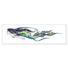 Mermaid Bumper Bumper Sticker