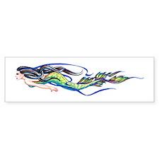 Mermaid Bumper Car Sticker