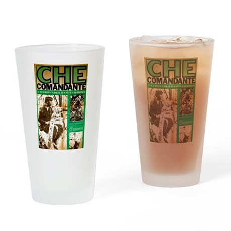 Comandante Che Drinking Glass