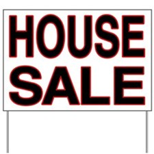 House Sale Yard Sign