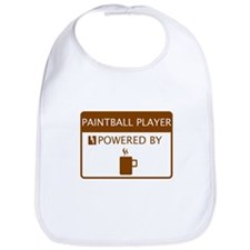 Paintball Player Powered by Coffee Bib