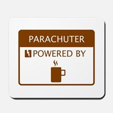 Parachuter Powered by Coffee Mousepad