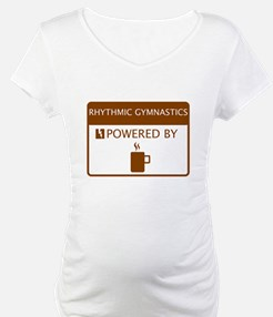 Rhythmic Gymnastics Powered by Coffee Shirt
