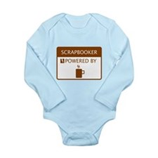 Scrapbooker Powered by Coffee Long Sleeve Infant B