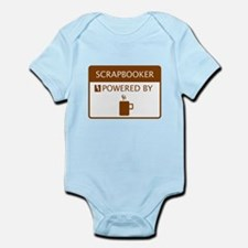 Scrapbooker Powered by Coffee Infant Bodysuit