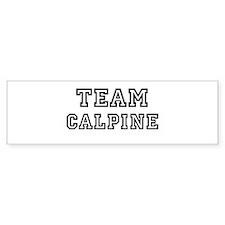 Team Calpine Bumper Bumper Sticker