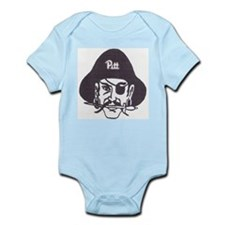 The Pittsburg Fighting Pirates Infant Bodysuit