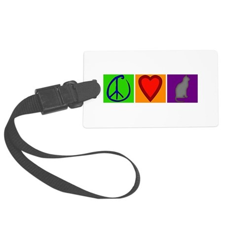 CafepressShopDesigns8.jpg Large Luggage Tag