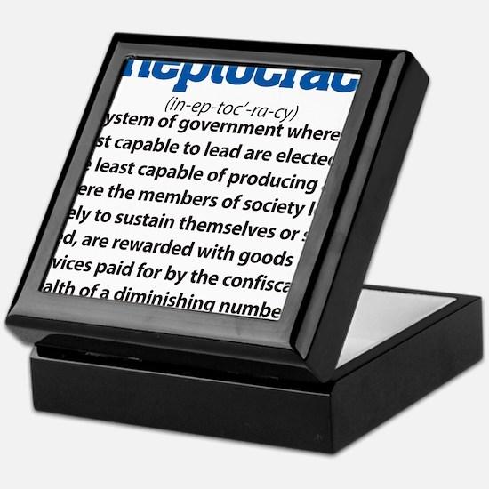 Ineptocracy Keepsake Box