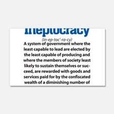 Ineptocracy Wall Decal