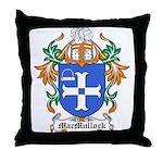 MacMullock Coat of Arms Throw Pillow