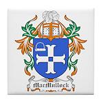 MacMullock Coat of Arms Tile Coaster