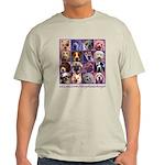 DOGSREALDOGS SHIRT w wordscopy.png Light T-Shirt