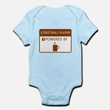 Streetball Player Powered by Coffee Infant Bodysui