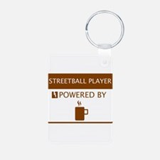 Streetball Player Powered by Coffee Keychains