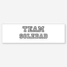 Team Soledad Bumper Bumper Bumper Sticker