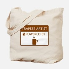 Trapeze Artist Powered by Coffee Tote Bag