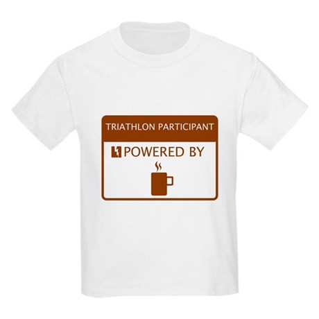 Triathlon Participant Powered by Coffee Kids Light