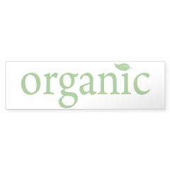 NEW Organic Sticker (Bumper)