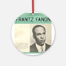Frantz Fanon Ornament (Round)