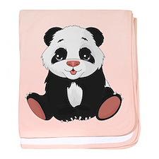 Cute Little Panda baby blanket