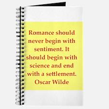 oscar wilde quote Journal