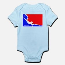 Major League Spearfishing Infant Bodysuit