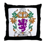 MacMore Coat of Arms Throw Pillow