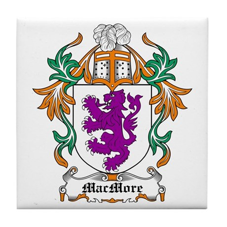 MacMore Coat of Arms Tile Coaster