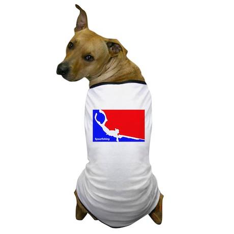 Major League Spearfishing Dog T-Shirt