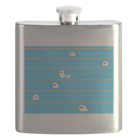 Swimming Contest Flask