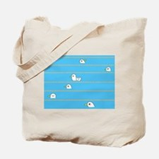 Swimming Contest Tote Bag