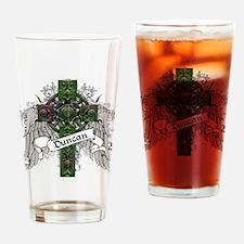 Duncan Tartan Cross Drinking Glass