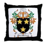 MacMoran Coat of Arms Throw Pillow