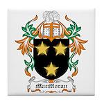 MacMoran Coat of Arms Tile Coaster