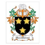 MacMoran Coat of Arms Small Poster